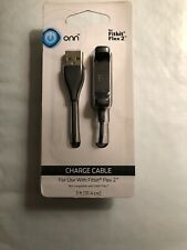 Onn Replacement Charge Cable for Fitbit Flex 2 Only. New In Package