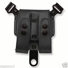 Galco SCL Mag Case For System Black 9/40/357 Double Stack Mags SCL24B