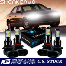 For Buick Century 1997-2002 2003 - 4x 6000K LED Headlight High & Low Beam Bulbs