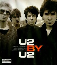 U2 By U2 Large Hardcover Book Bono The Edge Adam Clayton Larry Mullen Jr  (C04)
