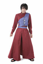 Naruto Shippuden Hidden Cosplay Costume Sand Kazekage Gaara Red Outfit V7 Set