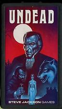 UNDEAD (1981) Steve Jackson Games. Pocket Box Edition. Unpunched. Dracula