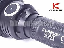 KLARUS XT32 Kit CREE Xp-l Hi V3 Tactical LED Flashlight W/ Battery &charger