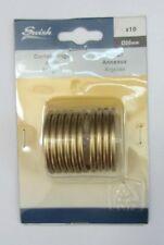 Anelli per Tende in acciaio Oro Sat. 20mm marca Swish Art. 20098