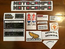 "Honda Motocompo Decal Sticker 1 Set ""New Combo Pack"""