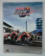 2013 Red Bull Indianapolis Moto GP Race Program MotoGP Moto2 Moto3 Marc Márquez