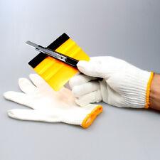 FolierSet Folien verklebe Set Filz Rakel, cutter, Handschuhe Vollverklebung Set