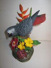 "Danbury Mint'S Bob Guge Collection—""Gabbyâ€�â €""African Grey Parrot"