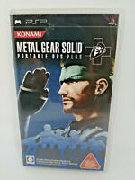 Sony PLAYSTATION Psp Portable Metal Gear Solid: Portable Ops Plus Konami Japan