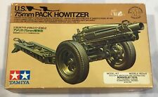 Tamiya 1/35 U.S. 75mm Pack Howitzer - Mc Metal Casting Series