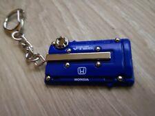 1x METAL KEY RING FOR HONDA CIVIC EG EK INTEGRA DC2 DC5 VTEC  BLUE COLOR