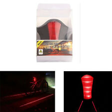 Bike Bicycle Rear Tail LED Light Flashing Safety Warning Lamp Laser project C