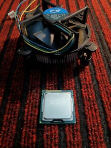 Intel i5-2500 Core Quad-Core PROCESSORE CPU SOCKET LGA 1155  + DISSIPATORE