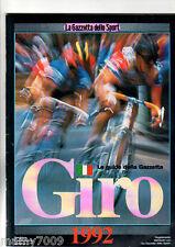 LA GAZZETTA DELLO SPORT=GIRO D'ITALIA 1992