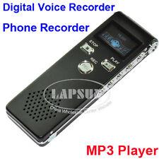 4GB Digital Voice Recorder Spy Pen Telephone Audio Music MP3 Player Repeater AU