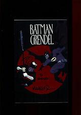 BATMAN GRENDEL HERO ASHCAN(9.2)(NM-)AUTO/MATT WAGNER W/COA