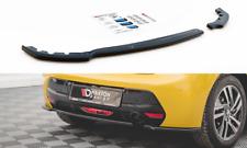 Cup Diffusor Ansatz für Peugeot 208 MK2 Heckansatz Heckstoßstangen Splitter ABS
