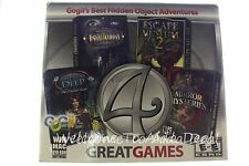Four Great Games - Gojii's Best Hidden Object Adventure PC Windows & MAC GamesCD