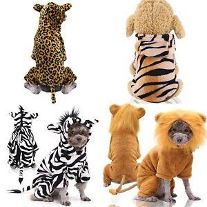Puppy Pet Dog Winter Cute Funny Animal Hoodie Costume Clothes Fleece Coat Jacket