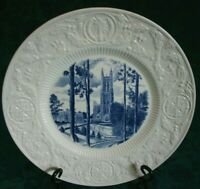 Duke University Wedgwood Commemorative Plate Vista of Chapel 1930