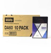 HHB DA60 60 Minute DTRS Tape for Tascam DA Series Recorders - 10 Pack