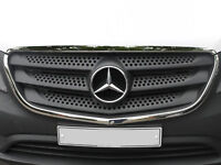 Mercedes Vito W447 TAXI 2014 Onwards Chrome Front Outer Grill Cover 2pcs S.Steel