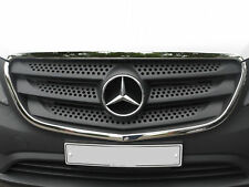 M.Benz Vito W447/Vito Taxi W447 Chrome Front Outer Grill Cover 2pcs S.Steel