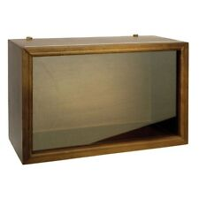 Town Square Miniatures Display Room Box, Walnut