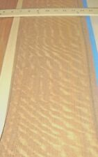 """Mozambique Figured wood veneer 6"""" x 99"""" raw with no backing 1/42"""" thickness"""