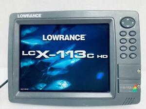 Lowrance LCX-113C HD GPS Receiver Fishfinder Depthfinder Display