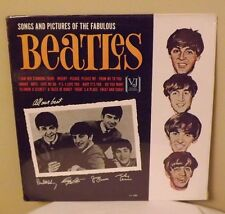 SONGS AND PICTURES OF THE FABULOUS BEATLES - Rare Sealed VJ 1092 LP