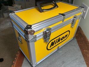 NIKON Vintage Yellow Aluminum Camera Case