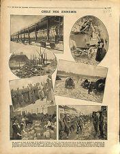 Train Germany Soldiers Deutsches Heer Ikwo Bridge Kaiser Wilhelm II War 1916 WWI