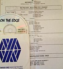RADIO SHOW: ON THE EDGE 8/11/97 FULL SETS w/SEAHORSES, 2 w/311, AND PRODIGY