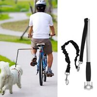 Dog Bicycle Leash Hands  Lead Pet Walk Run Fitness Cycling Bike Attachment
