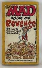 The MAD Book of Revenge by Stan Hart Vintage Comic First Print 1976 Warner Books