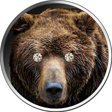 5 Cedis Ghana 2020 - 1 OZ Diamond Brown Bear 2020 - nur 333 Exemplare