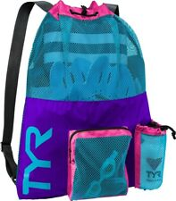 TYR Big Mesh Mummy Backpack-Purple/Blue
