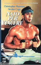 Nato per vincere (1986) VHS 1a Ed. Fox   Nicolas Cage