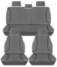 FULL CAR PACK 14oz CANVAS SEAT COVERS FOR HOLDEN COLORADO RG DUAL CAB 15-ON