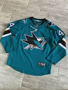Fanatics San Jose Sharks NHL Marc-Édouard Vlasic Stitched Jersey