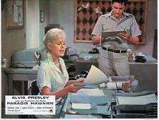 ELVIS PRESLEY SUZANNA LEIGH PARADISE, HAWAIIAN STYLE 1966 VINTAGE LOBBY CARD #6