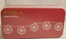 Ikea Strala Christmas Lights - Red-White Pin Wheels 104.406.78 -  New