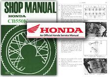 Honda CB550K Service Workshop Repair Manual CB550 K1 K2 K3 F A E F2 CB500