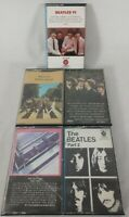 Lot of 5 - The Beatles -Cassette Tapes- Abbey Rd, Part 2, VI, 62-66, Rock n Roll