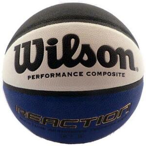 Wilson Reaction Basketball Blue Black White