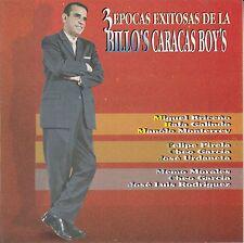 Billos Caracas Boys 3 Epocas Exitosas CD New Sealed