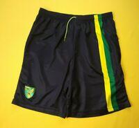 5/5 Norwich City shorts size small soccer football Errea ig93