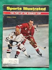 April 1966 Sports Illustrated Stanley Cup Hockey Playoffs Stan Mikita Blackhawks