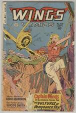 Wings #109 September 1949 G/Vg